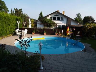 Fewo St. Ingbert, Saarland Ferienwohnung, Monteurwohnung Saarland,  FEWO mit Schwimmbad